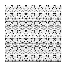 Cute Retro Eyeglass Hipster Tile Coaster