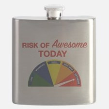 Risk of awesome today Flask