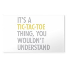 Its A Tic-Tac-Toe Thing Decal