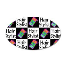 SIZZLING STYLIST Wall Decal