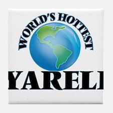 World's Hottest Yareli Tile Coaster