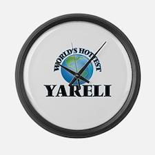 World's Hottest Yareli Large Wall Clock