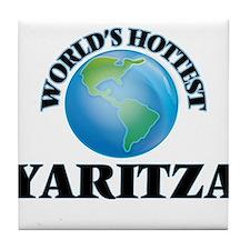 World's Hottest Yaritza Tile Coaster