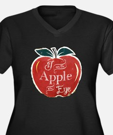 I Am The Apple of His Eye Plus Size T-Shirt