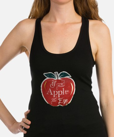 I Am The Apple of His Eye Racerback Tank Top