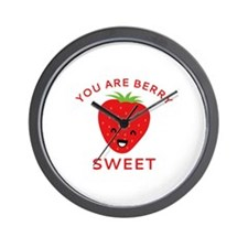 You Are Berry Sweet Wall Clock