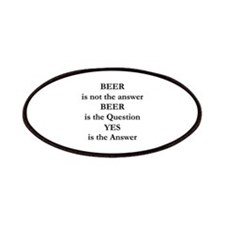 Beer Is Not The Answer Patches