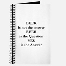Beer Is Not The Answer Journal