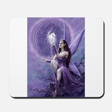 fairy and griffin Mousepad