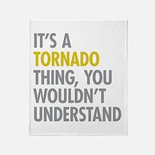 Its A Tornado Thing Throw Blanket