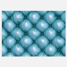 Lounge Leather - Blue Invitations