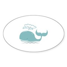 Spouting Whale Decal