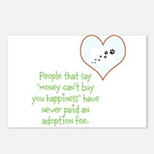 adoption happiness Postcards (Package of 8)