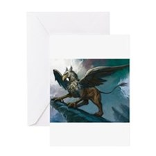 griffin Greeting Cards