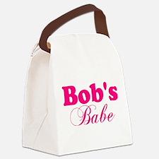 Bob's Babe Canvas Lunch Bag