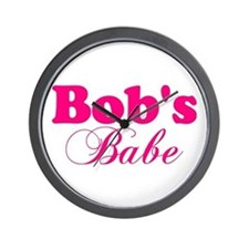Bob's Babe Wall Clock