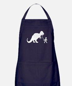 Pet Dinosaur Apron (dark)