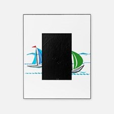 Three Yachts Racing Picture Frame