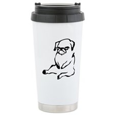Cute Pug Travel Mug