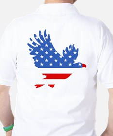 Patriotic Eagle July 4th T-Shirt