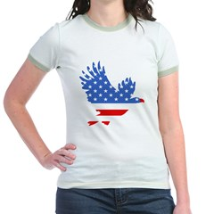 Patriotic Eagle July 4th T