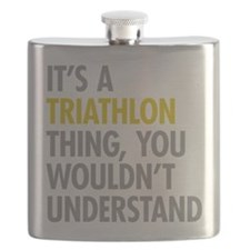 Its A Triathlon Thing Flask