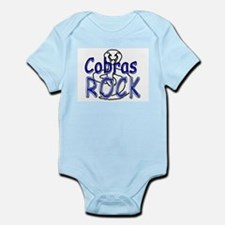 Cobras Rock Infant Bodysuit