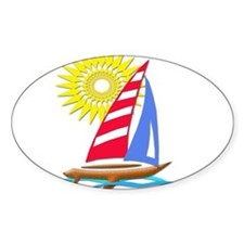 Sun and Sails Decal