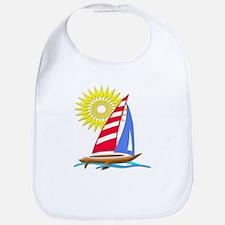 Sun and Sails Bib