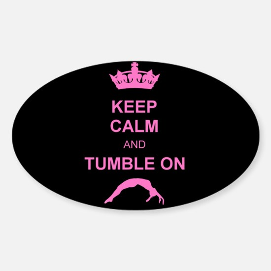 Keep Calm and Tumble on Decal