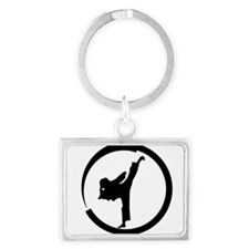 Cute Tang soo do Landscape Keychain