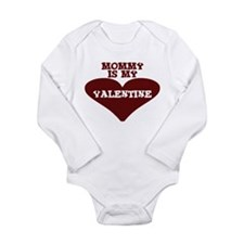 Funny Infant valentine Long Sleeve Infant Bodysuit