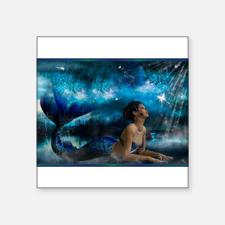 Best Seller Merrow Mermaid Sticker
