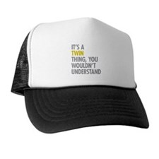 Its A Twin Thing Trucker Hat
