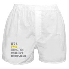 Its A Twin Thing Boxer Shorts