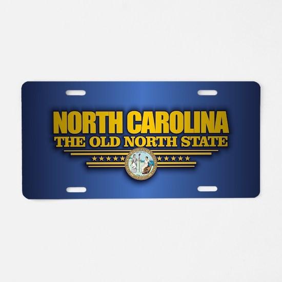 North Carolina (v15) Aluminum License Plate