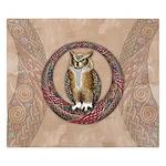 Celtic Owl King Duvet