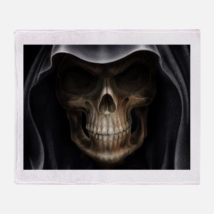 grimreaper Throw Blanket