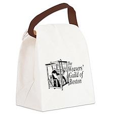 Cute Weaving Canvas Lunch Bag