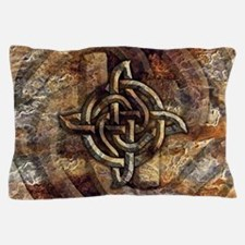 Celtic Rock Knot Pillow Case