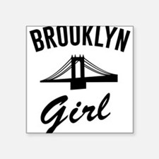 Brooklyn girl Sticker