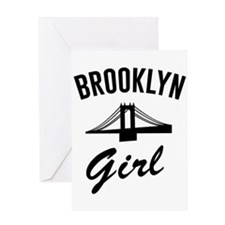 Brooklyn girl Greeting Cards
