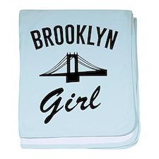 Brooklyn girl baby blanket