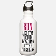Run like Channing Tatu Water Bottle