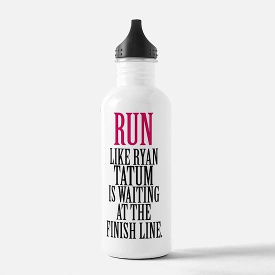 Run like Channing Tatu Water Bottle