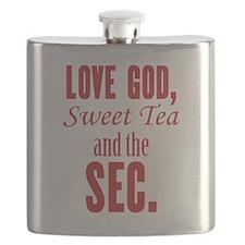 Love God, Sweet Tea and the SEC. Flask