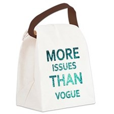 More Issues than Vogue Canvas Lunch Bag