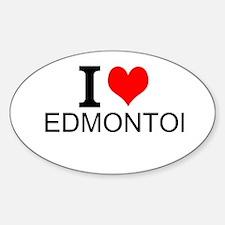 I Love Edmonton Decal