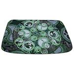 Celtic Stormy Sea Mandala Bathmat