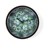 Celtic Stormy Sea Mandala Wall Clock